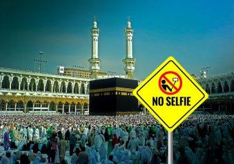 Banned Selfie, Saudi Arabia (Mecca)